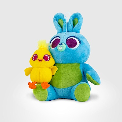 InfoThink 玩具總動員系列絨毛藍牙喇叭 - 鴨霸與兔崽子