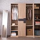 TZUMii 波里開放式二層衣櫥40.2*48*179 cm