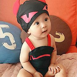 baby童衣 小惡魔翅膀造型連身泳裝 附帽子 y7052