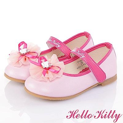 HelloKitty手工公主娃娃童鞋-粉(16-19.5cm)