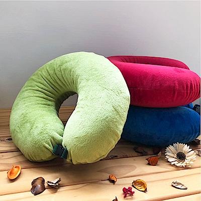 鴻宇 U型旅行枕 午睡兩用乳膠枕