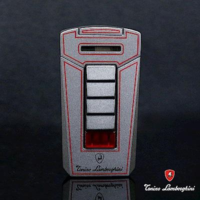 藍寶堅尼Tonino Lamborghini AERO LIGHTER 打火機(灰底紅線)