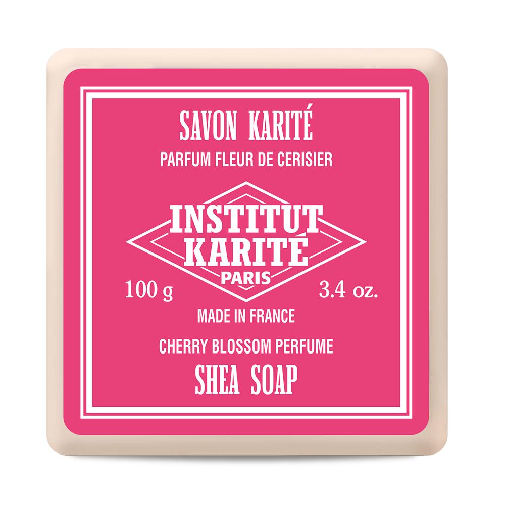 Institut Karite Paris 巴黎乳油木櫻花花園香氛手工皂皂 100g
