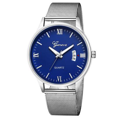 Geneva 日內瓦-極度時尚日曆米蘭帶手錶 (5色任選)