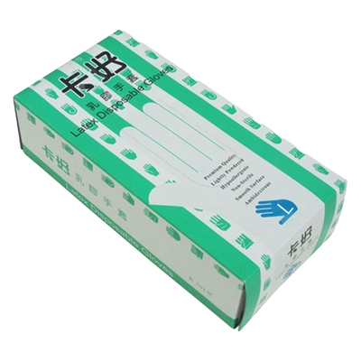 卡好乳膠超薄手套100入(L×3盒)