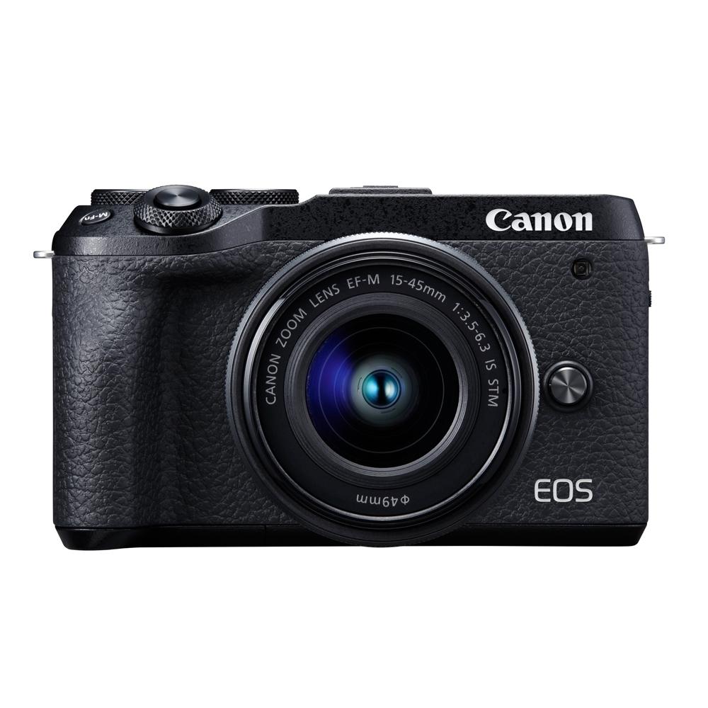 Canon EOS M6 Mark II (M2) 15-45mm+22mm人像雙鏡組(公司貨)