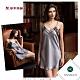 華歌爾睡衣-曖昧曲線 M-L性感裙裝(墨綠) 沙典 product thumbnail 1
