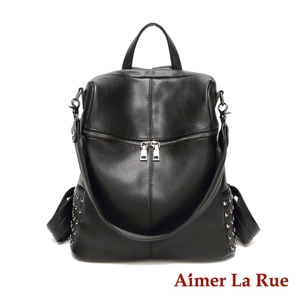 Aimer La Rue 索菲雅二用後背包-黑色(快)