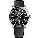 Hugo Boss Black衝速狂放運動橡膠腕錶/1512885