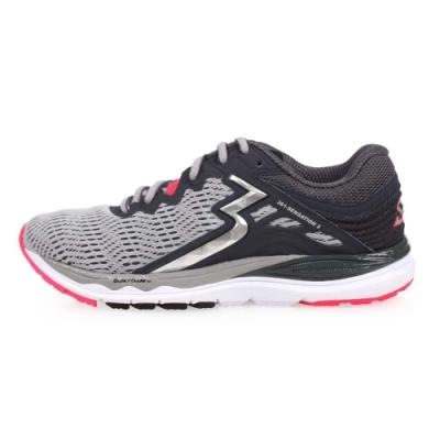 361度 361° 女慢跑鞋-訓練 路跑 灰銀紅