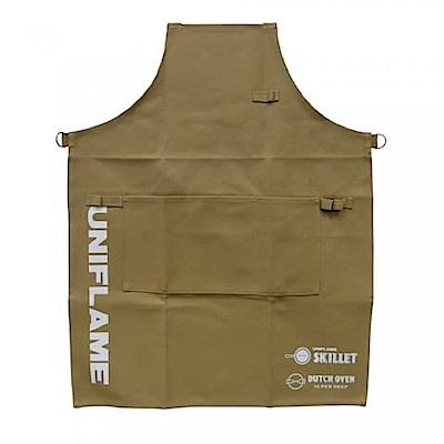 UNIFLAME U792117 職人圍裙 卡其