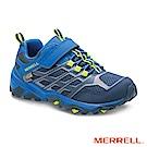 MERRELL MOAB FST WP 登山防水童鞋-藍(260331)