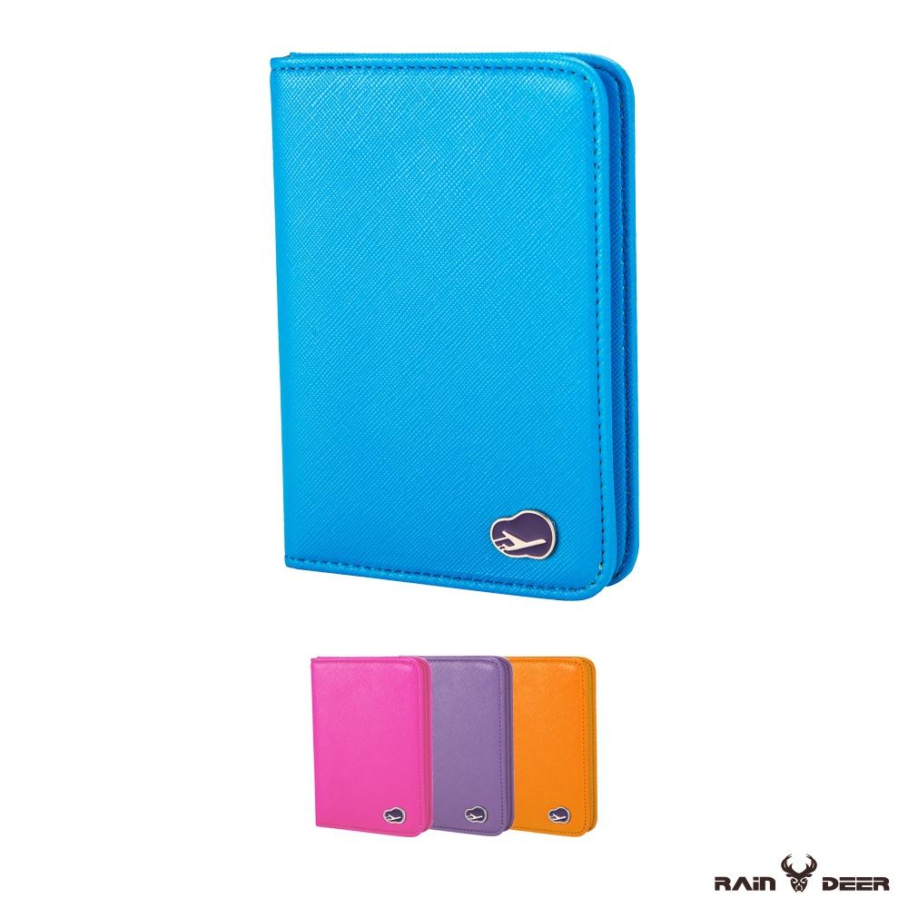 RAIN DEER 氣質非凡防消磁護照夾輕旅行系列(隨機出貨)
