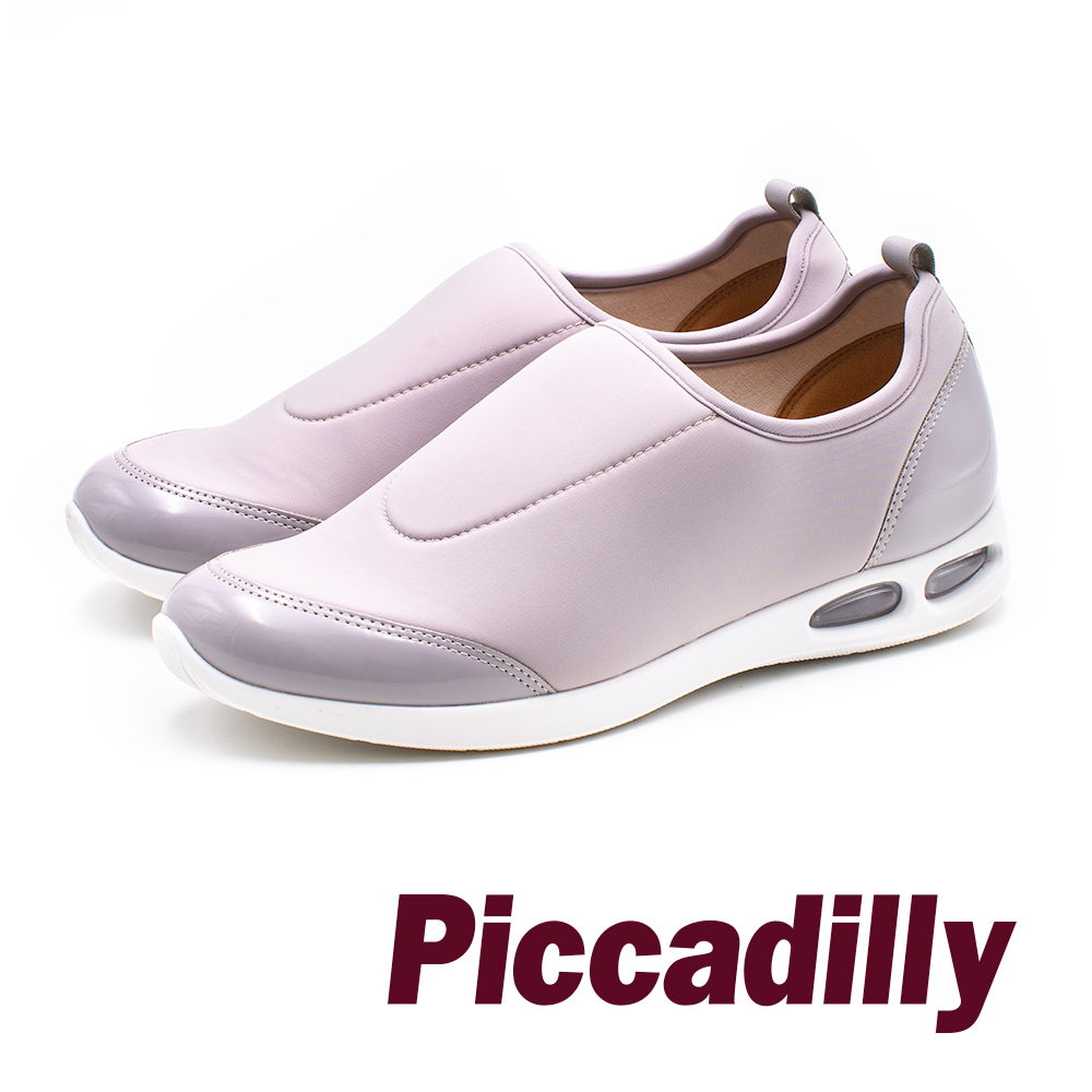 Piccadilly Q彈氣墊 直套懶人女鞋- 灰 (另有藍) product image 1