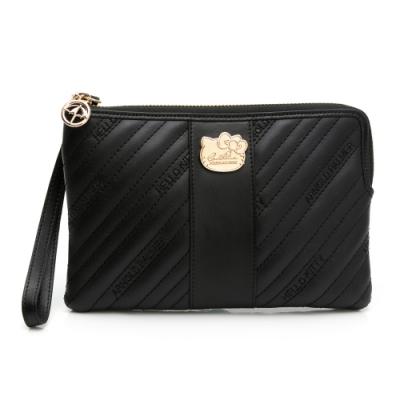 Kitty聯名- 萬用包附手挽帶 BRILLIANT 璀璨系列-黑色