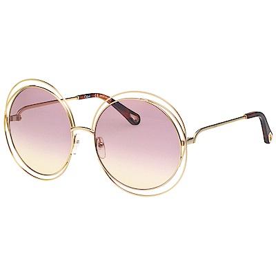 [時時樂限定]Chloe 圓形 經典太陽眼鏡(共多款)
