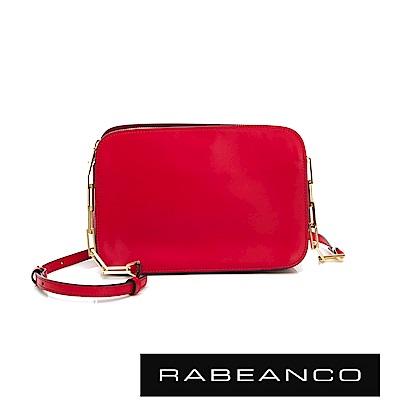 RABEANCO LUXURY極致奢華系列鍊帶包 鮮紅
