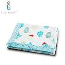 L.A. Baby  高級保暖樂豆毯 輕柔(80 x 100 cm) 9款