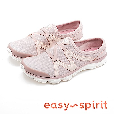 Easy Spirit RIPTIDE2 極輕量彈性布氣墊鞋-粉色