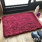 TROMSO 北歐風尚小羊絨吸水地墊-都會紅