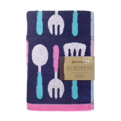 日本丸真 葡萄牙製創意廚房浴巾-餐具