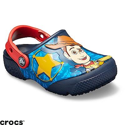 Crocs卡駱馳(童鞋) 玩具總動員小克駱格-205493-410