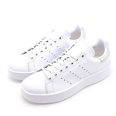 ADIDAS-STAN SMITH BOLD女休閒鞋-白色