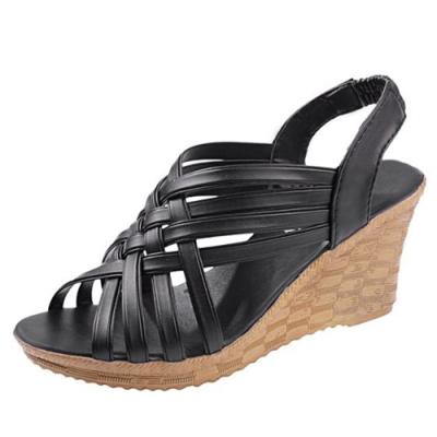 KEITH-WILL時尚鞋館 獨家價好感印象涼跟鞋-黑