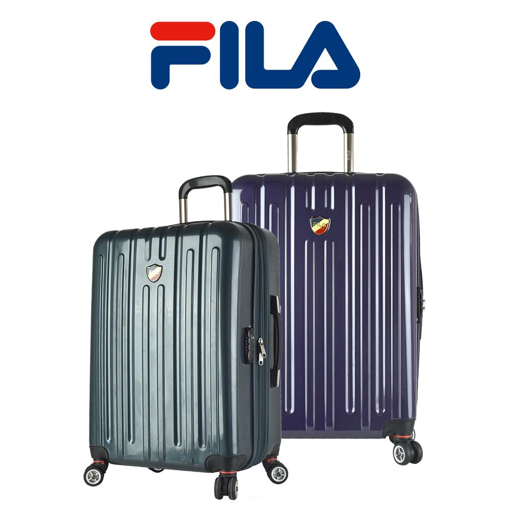 福利品限量優惠 24吋FILA亮面行李箱-紫色 @ Y!購物