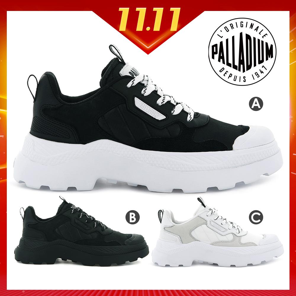 [時時樂]PALLADIUM PALLAKIX休閒鞋-男女共三色