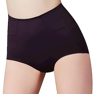 思薇爾 輕塑型系列64-82高腰平口束褲(黑色)