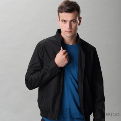 ROBERTA諾貝達 休閒時尚 輕薄流行夾克外套 黑色