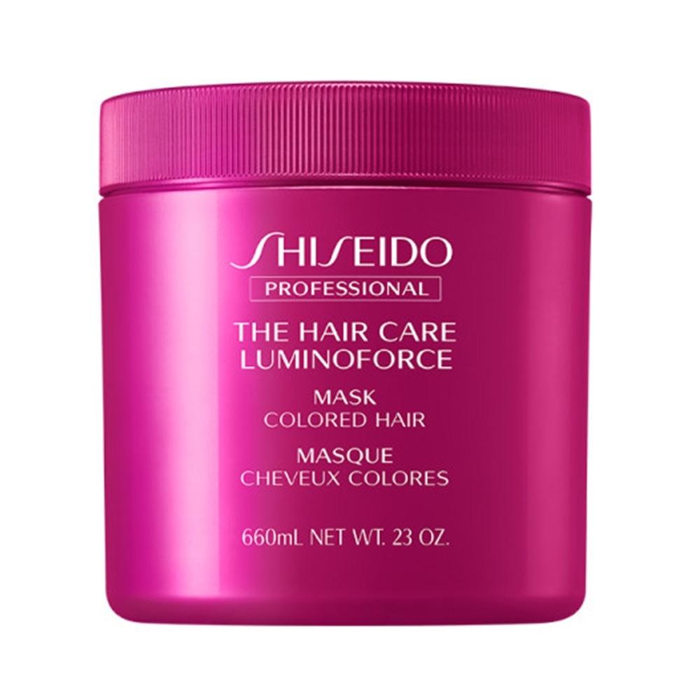 SHISEIDO資生堂 靚色修護髮膜 680ml-快