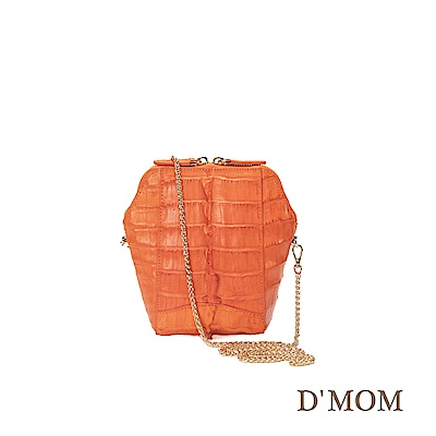 DMOM 經典貝殼手機包-橘