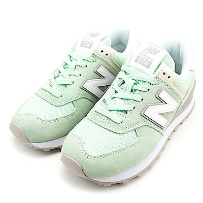 NEW BALANCE-女休閒鞋WL574ESM-B-綠