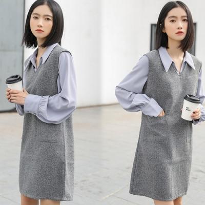 【韓國K.W.】(預購)美學獨特品味套裝裙-1色