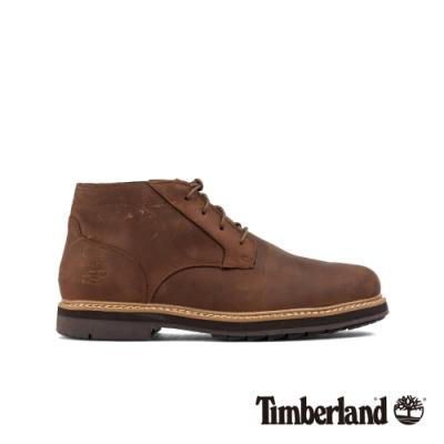 Timberland 男款中棕色全粒面防水靴|A2C2V