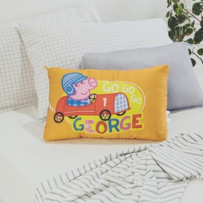 絲薇諾  正版授權  兒童天絲水洗枕1入 - 佩佩豬-喬治GO橘
