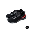 艾樂跑Arriba男款 針織輕量休閒鞋-黑紅/黑白 (FA-535)