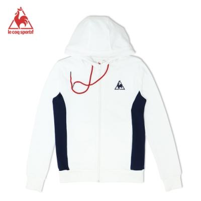 法國公雞牌連帽外套 LOK6390290-中性-白