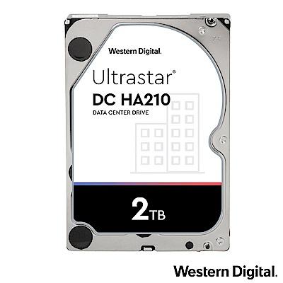 WD Ultrastar DC HA210 2TB 3.5吋企業級硬碟