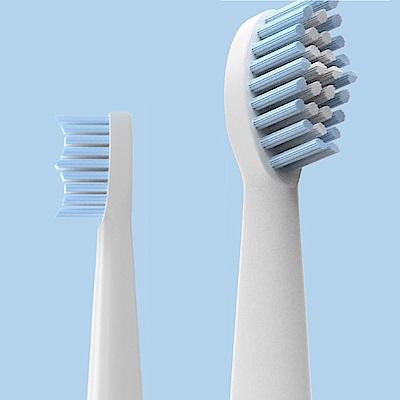 ANDYMAY2全防水USB充電式全自動智能聲波電動牙刷-替換牙刷頭(2盒4入)