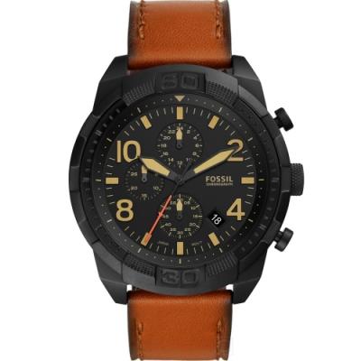 FOSSIL Bronson 戰慄時空 計時腕錶(FS5714)50mm