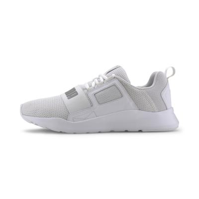PUMA-Puma Wired Cage 男性復古慢跑運動鞋-白色