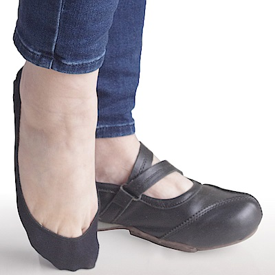 MIT 防滑隱形襪(黑) 12雙SE917