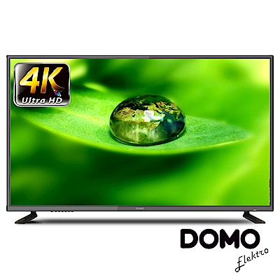 DOMO 43型 4K UHD多媒體數位液晶顯示器+數位視訊盒 DOM-43A08K