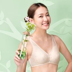 嬪婷 環保系列-寶特瓶紗 A-C罩杯內衣(大地黃) 第三階段內衣 消臭抑菌 親膚性佳