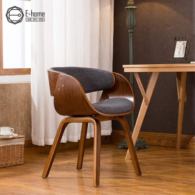 [時時樂限定]E-home Jerome傑羅姆曲木餐椅 灰色