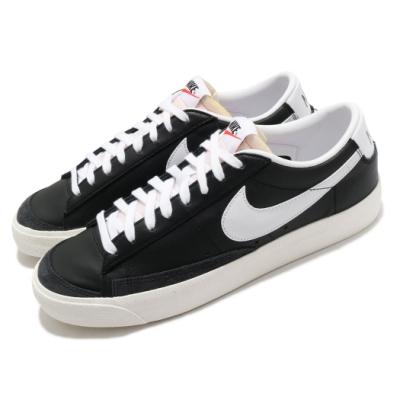 Nike 休閒鞋 Blazer Low 77 運動 男鞋 基本款 簡約 復古 舒適 球鞋 穿搭 黑 白 DA6364001