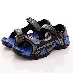 Lotto樂得-野趣戶外涼鞋款 SFI216灰藍(男段)